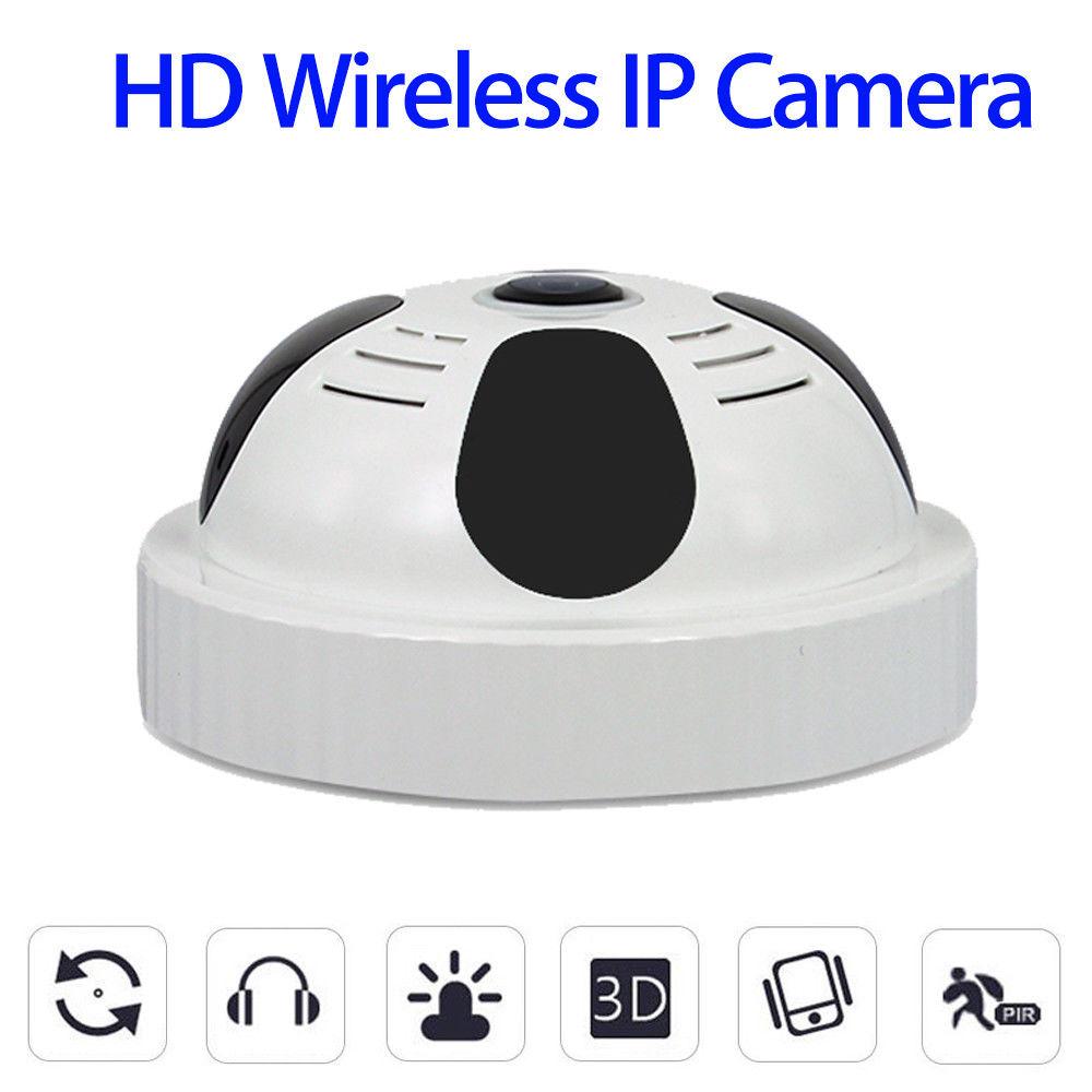 Blueskysea EC20 HD 1080P H.264 Wireless Infrared WIFI P2P 360degree Night Vision IP Camera CMOS Durable Mini Indoor White