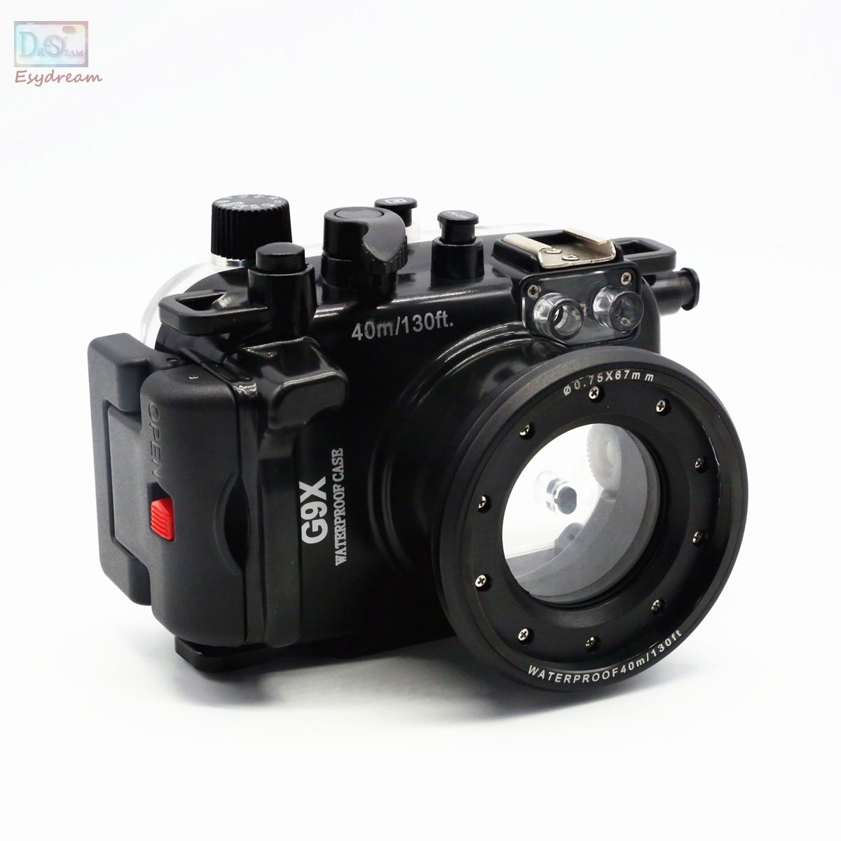Waterproof Underwater Housing Camera Housing Case for canon PowerShot G9X 24-100mm Lens 40m waterproof underwater housing case for canon powershot g7x mark ii camera