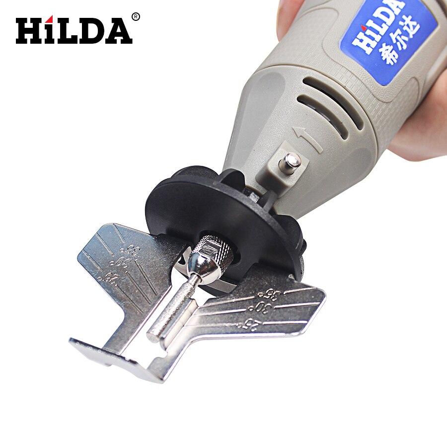 Hilda seghe attachment per affilare temperamatite guida adattatore drill dremel trapano stile rotary tools mini trapano utensili elettrici accessori