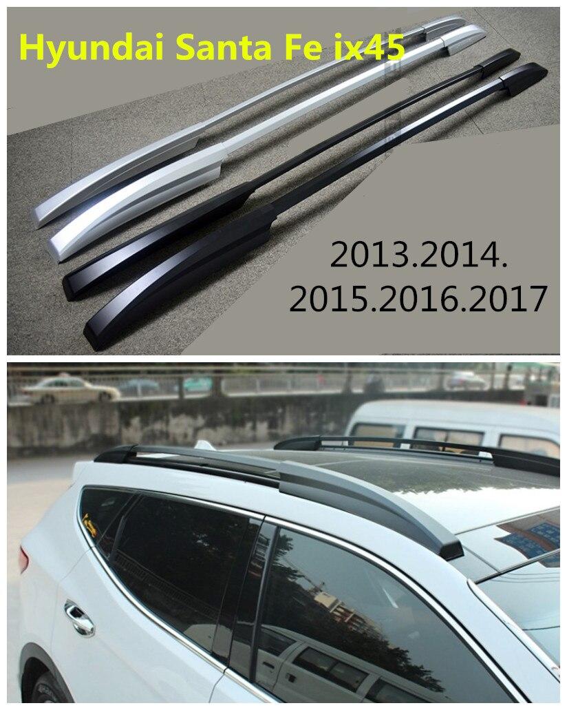 Здесь продается  Auto Roof Racks Luggage Rack For Hyundai Santa Fe ix45 2013.2014.2015.2016.2017 High Quality New Aluminium Car Accessories   Автомобили и Мотоциклы