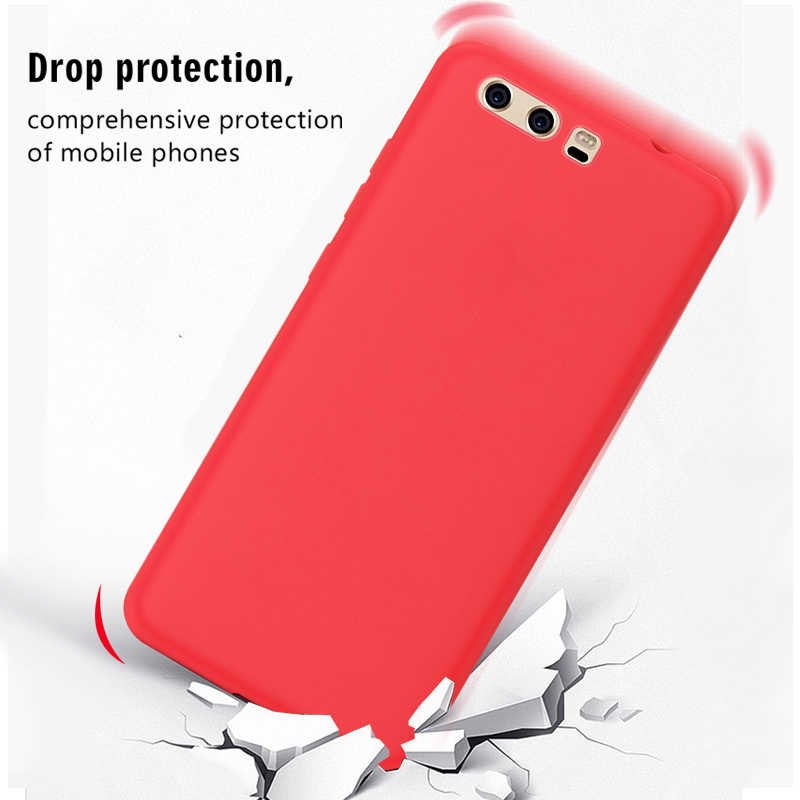 Candy Color Phone Case For Huawei Honor 8X 8C P Smart 2019 P30 P20 Lite Pro Soft Silicone Cover Capa For Honor 8 X 8x Capa Coque