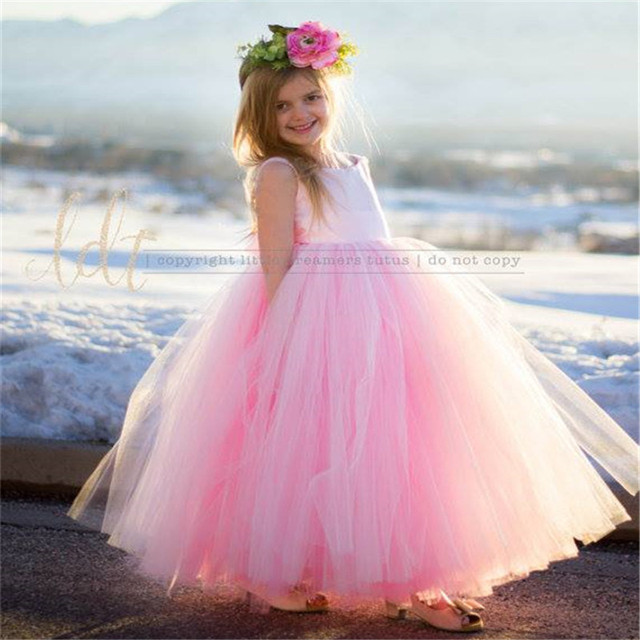 Niños Niñas princesa vestido elegante Vestidos para Niñas partido ...