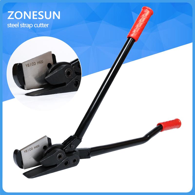 correa manual de la herramienta cortadora de banda de acero mango corto herramienta cortador