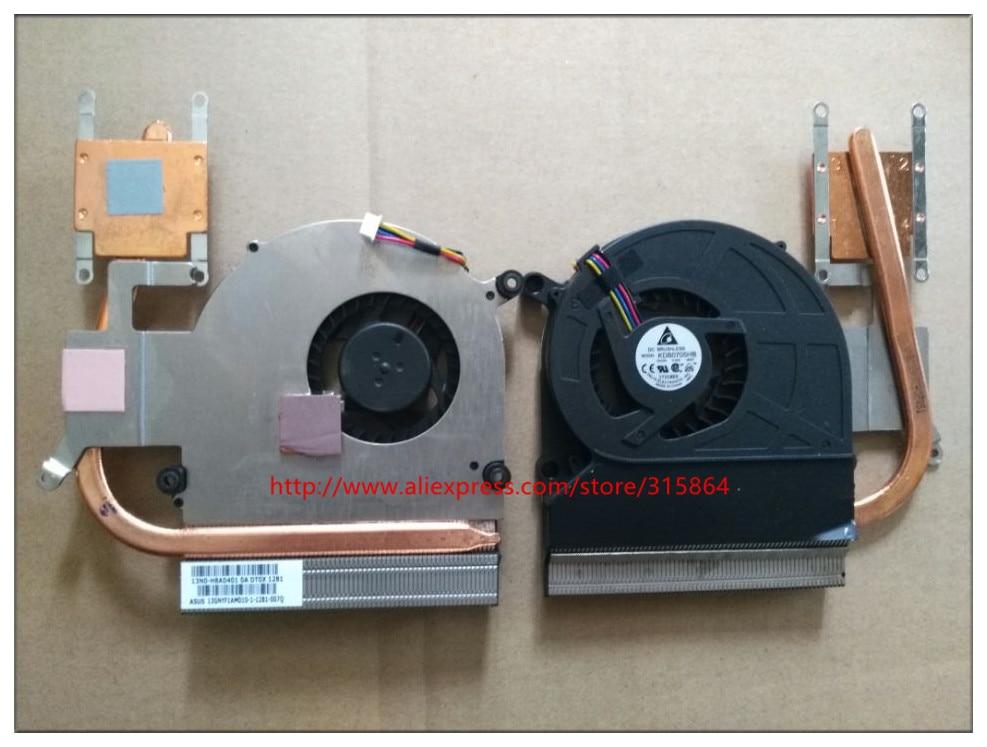 New new laptop cpu fan for Asus Thermal CPU Module Assy K40ID, 13GNYF1AM010-1 c200h cpu03 cpu unit cpu module