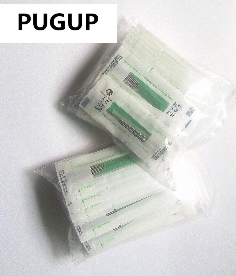 PUGUP 5000 pieces Sec disposable acupuncture needle 500 pieces a box