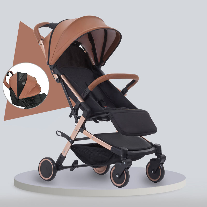 super lightweight stroller can fold out in 2 positions in the set gift quality is beautiful