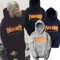 Hombres sportswear llama Thrasher hoodie Thrasher monopatín mosca muerta hip-hop harajuku oeste de lana con capucha sudadera XXS-4 xl