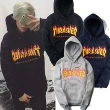 Men's sweatshirt Men sportswear Thrasher hoodie