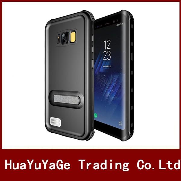 imágenes para Cajas del teléfono Original Redpepper Bolsa a prueba de golpes Cubierta a prueba de agua ultra fina del caso con Kickstand para Samsung Galaxy S8 S8 Más