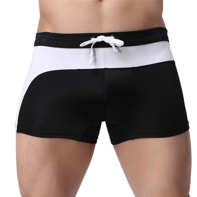 2018 Новый Для мужчин s Плавание трусы Плавание одежда Спортивные шорты Боксеры Нижнее белье Для мужчин удобные дышащие мужские трусы Мужские Шорты для купания #2J19