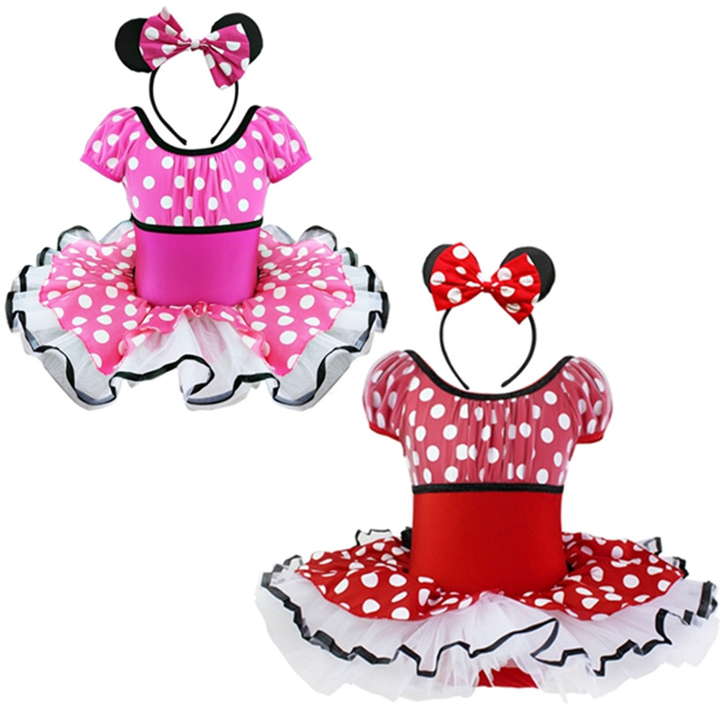 все цены на Nicoevaropa Girl Dresses Kids Dance Ballet Halloween Christmas Dressing Mouse Wonderland Costume Tutu with Ear Headband