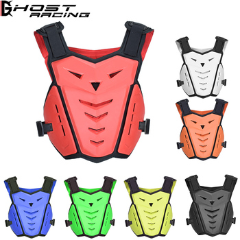 GHOST RACING Motorcycle Jackets Motorcycle Armor Motocross Off-Road Racing Safety Protective Gear Chest Protector Back Support