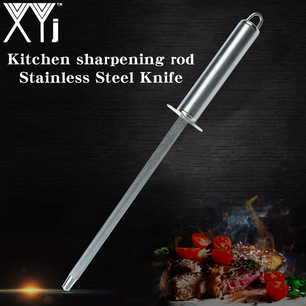 XYj Kitchen Knife Sharpener High Hardness Stainless Steel Sharpening Tool For Kitchen Stainless Steel Knives Cooking Accessories