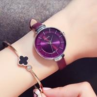 Relojes Mujer 2018 Bayan Kol Saati Horloges Vrouwen Curren Horloge Women Watch Quartz Contracted Wristwatch Fashion Dress Gift