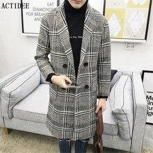 2017 Новый Ближний Длинные мужские Шерстяные Куртки Мужчины Шерстяные Пальто Плед Куртка и Пальто Мужские Теплые Шерстяные Пальто Плюс Размер 3XL 4XL 5XL 5z