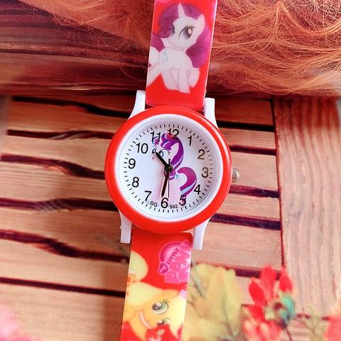 2019 new pony print silicone band kids watch girl cute cartoon unicorn quartz watch wrist watch Islamabad
