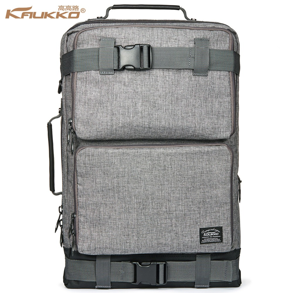 Backpack space KAUKKO Men's Vintage Canvas Duffel Convertible Bag 3 in 1 Shoulder Back Pack for backpack Travelling цены онлайн