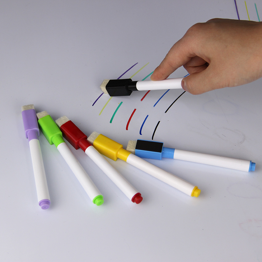 Repeated Filling Whiteboard Marker Pen Set With Eraser