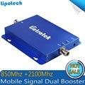 850/2100 mhz dual band sinal móvel impulsionador CDMA 3G WCDMA dual band repetidor de sinal de telefone celular, 3G amplificador de sinal de Telefone Inteligente
