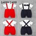 Лето детская одежда детская мода новорожденных комбинезон младенца хлопка костюм горячая продажа мальчика