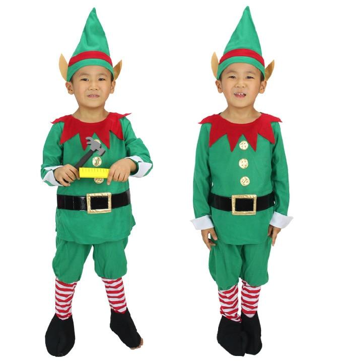 Trajes de duendes de navidad - Trajes de papa noel para ninos ...