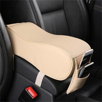 Interior Do Carro PU Caixa Apoio De Braço Central Caixa Braço Pad Intensificação CX-3 CX3 Proteção Mat Para Mazda 2018 Acessórios Do Carro