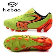 TIEBAO Professional брендовые футбольные кроссовки Футбол крытый обувь FG и HG Deportivas Hombre Zapatos