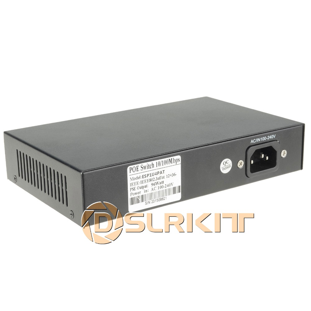 Dslrkit 96watt 5 Port 4 Poe Switch 8023af At Power Over Ethernet Cable Diagram Electronic Kits Internal In Network Switches From Computer Office On Alibaba