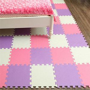 Image 3 - 明徳ベビーevaパズルマット子供のための/連動運動タイル床カーペット敷物、各32X32cm、18または24pcバッグ