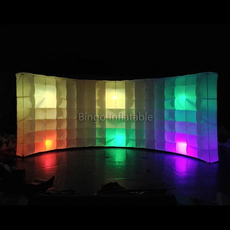 Livraison Gratuite LED Éclairage Paroi Gonflable Gonflable Enfant Tente pour Décoration Extérieure avec Ventilateur Libre freddy jouets