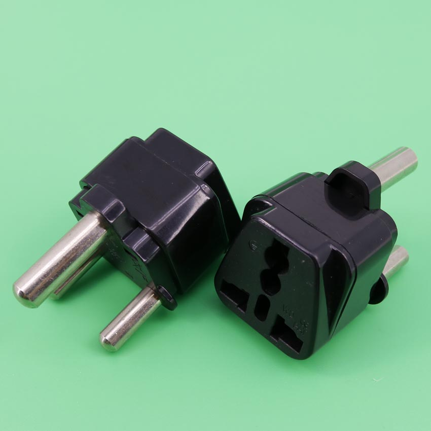 YuXi  Big South Africa plug Power Travel Converter power plug Conversion Plug 3 Pin to 3 Pin round South Africa Plug Socket wd 010 5pcs south africa plug to universal socket adapter