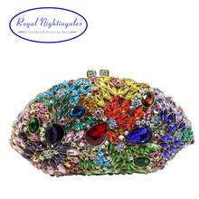 Luxury Diamond Crystal Clutch for Wedding Bridal Evening Party Crystal Clutch