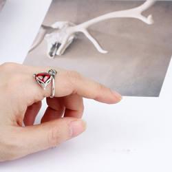 SOUAIME 925 Серебряное кольцо открытый Агат Камень Ретро стиль подарок на день рождения Рождественский подарок