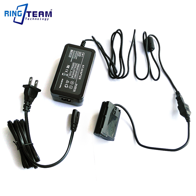 AC Power Adapter EH-5 /A/B + EP-5B for Nikon 1V1 D7200 D7100 D7000 D810 D810A D800 D800E D750 D850 D610 & D600 Digital Cameras 28wh 5v 2 1a 8 4v 2a external mobile power bank charger supply for digital cameras canon dr e6 nikon ep 5a ep 5b sony pw20