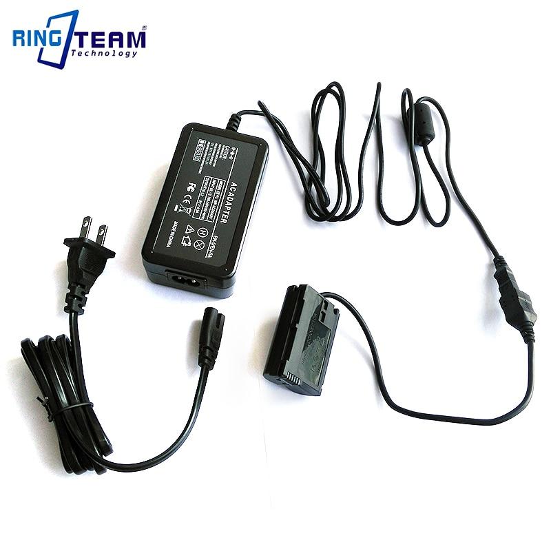 AC Power Adapter EH-5 /A/B + EP-5B For Nikon 1V1 D7200 D7100 D7000 D810 D810A D800 D800E D750 D850 D610 & D600 Digital Cameras