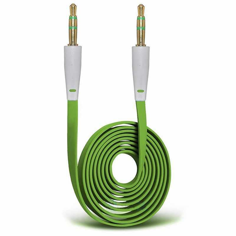 3.5mm naar Male 1 m Auto Stereo Audio Aux aux Kabel Cord voor MP3 iPhone 6 6 S Plus 5 5 S SE iPod iPad Samsung Galaxy Telefoons