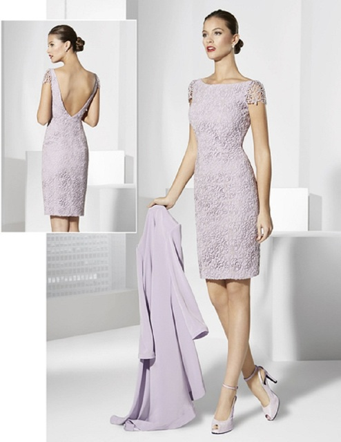 Knee Length Mother of The Bride Dresses With Jacket Plus Size Cap ...