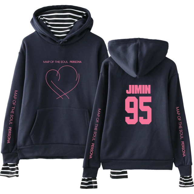 MAP OF THE SOUL PERSONA EAR STRIPED HOODIE (29 VARIAN)