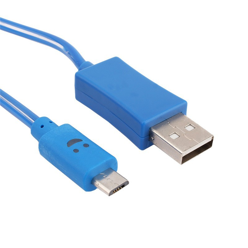 micro usb cable led