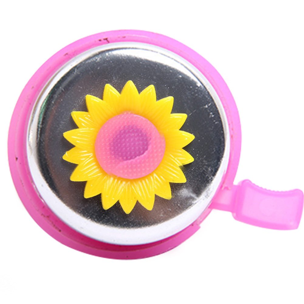 Parts Horn Unisex Accessory Cycling Toddler Kids Bike Bicycle Bell Flowers Outdoors