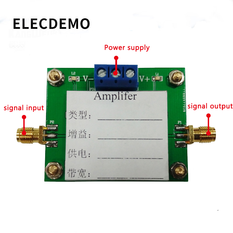 Image 2 - OPA695 Module high speed broadband op amp high speed current buffer non inverting amplifier 1.4G bandwidth product-in Demo Board Accessories from Computer & Office