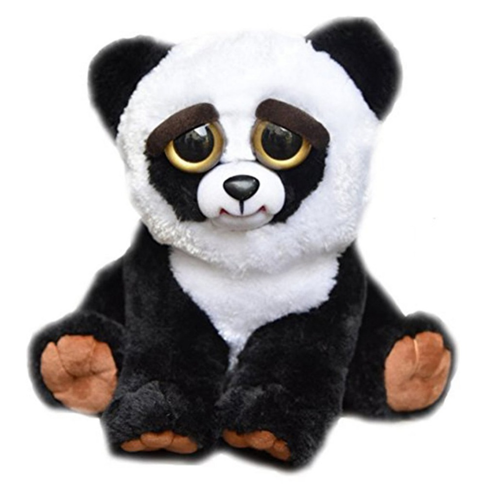 minnie Feisty Pets Change Face Funny Expression Animal Dolls Stuffed Plush Toys For Kids Cute Soft Panda unicornio birthday Gift ...