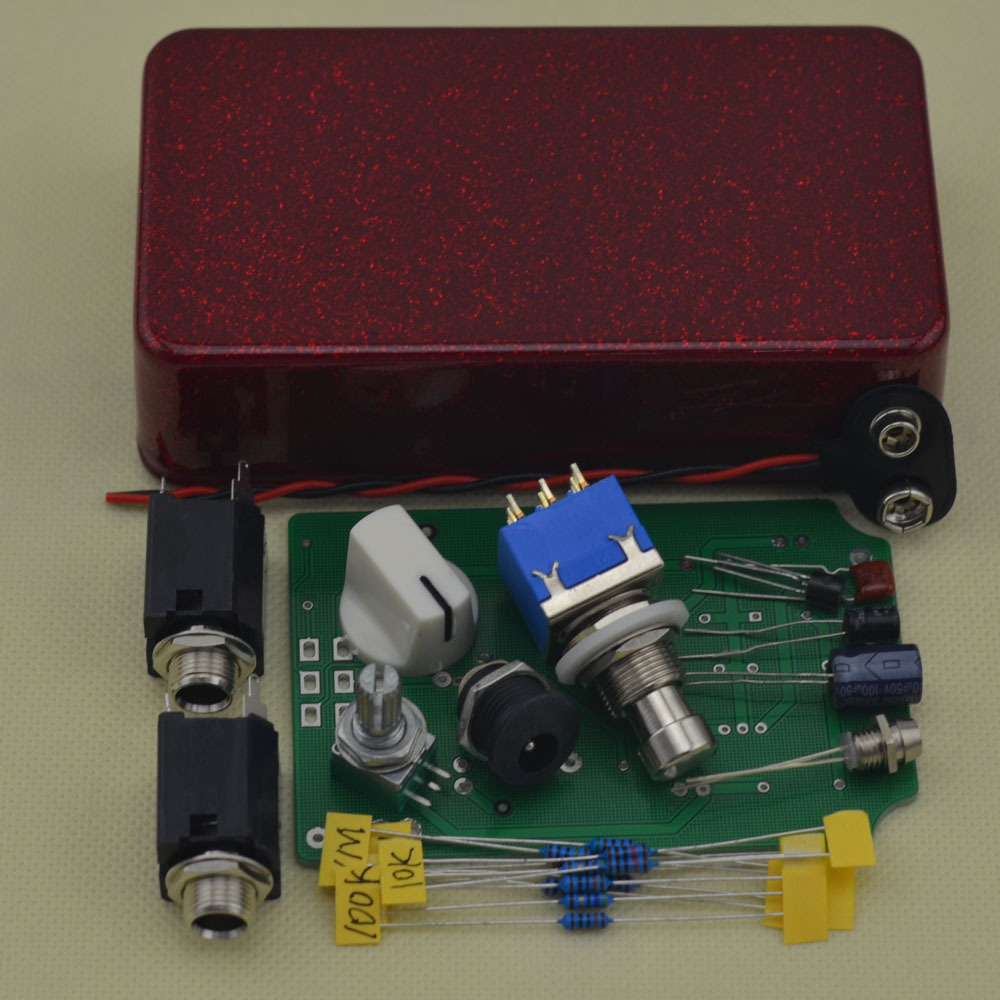 New Diy Boost Effect Pedal Kits With 1590b And 9 Pin 3pdt