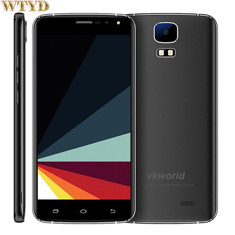 Vkworld S3 Android 7.0 1GB+8GB 5.5'' MTK6580A Quad Core up to 1.3GHz 2.5D Corning Gorilla Glass Screen Cellphone 3G OTA FM GPS