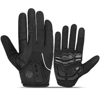 Cycling Gloves Full Finger Sport Shockproof MTB Bike Touch Screen Gloves Man Woman Bicycle Long Finger Glove 2019