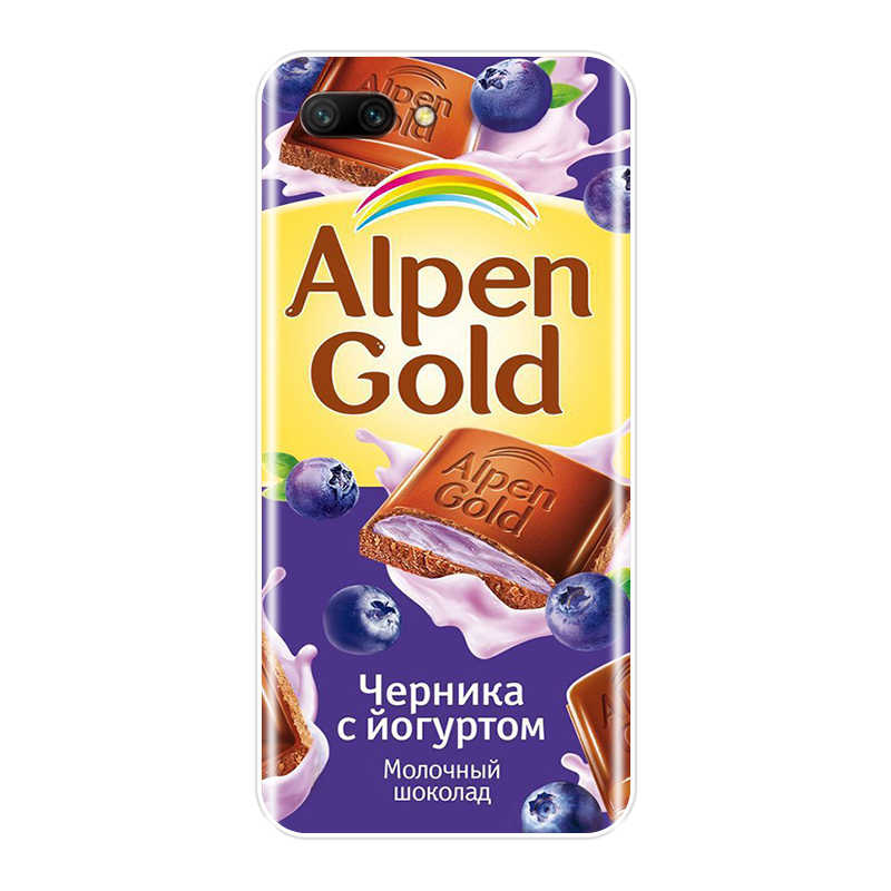 Para Huawei Honor 10 9 8 7 caso silicona divertido Chocolate ruso cubierta suave para Huawei 8X MAX 7 S 7X 7A 7C Pro teléfono caso