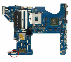 Excelente Para Samsung RF711 Laptop Motherboard GT540M 1 gb HM65 BA92-08162B BA92-08162A BA41-01473A 100% de trabalho