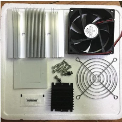 DIY Electronic semiconductor refrigeration suite with 12706 Thermoelectric Peltier