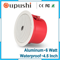 3 10W Waterproof Fireproof Overhead Speakers Embedded Speakers Public Broadcasting Adress Systems Speakers