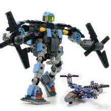 Transformation Series Robot Vehicle  Aerocraft DIY Building Blocks Kit Toys Kids Best Gifts
